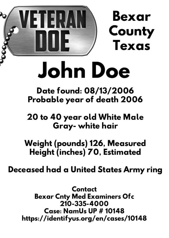 unidentified person texas US army
