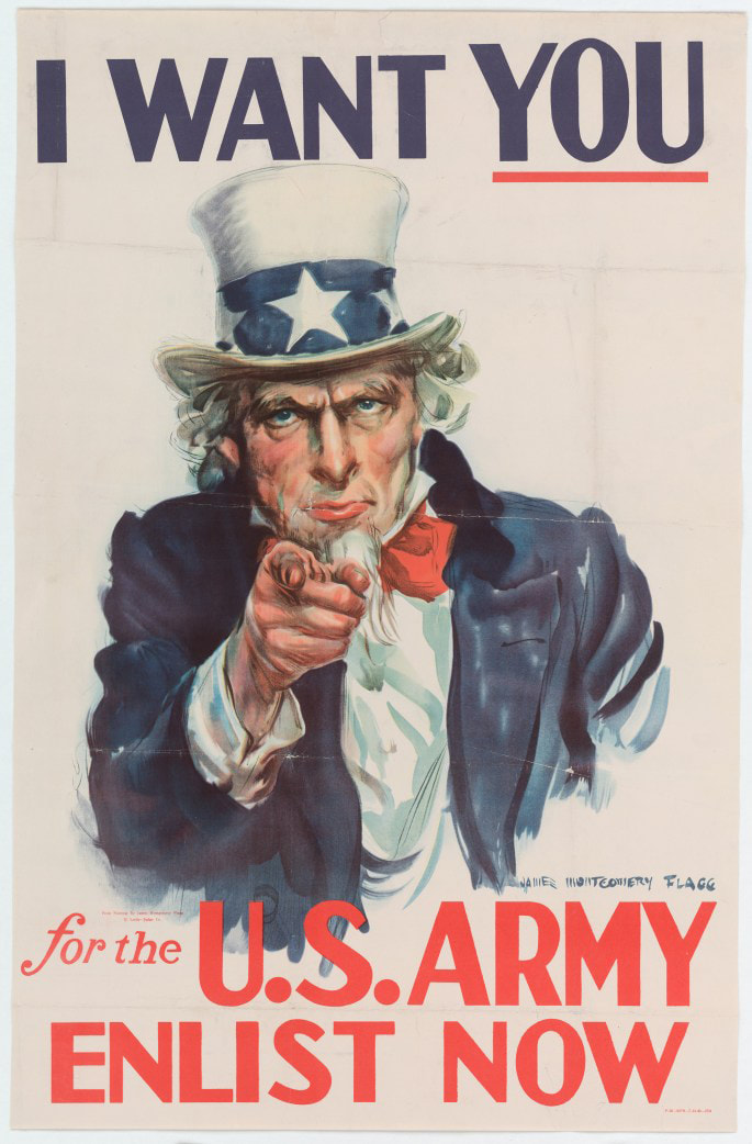 ww2 army recruiting poster